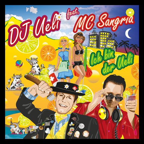 CD Cover DJ Ueli MC-Sangria